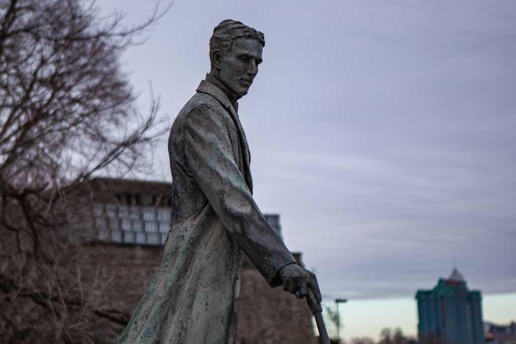 Nikola Tesla Statue, Niagara Falls
