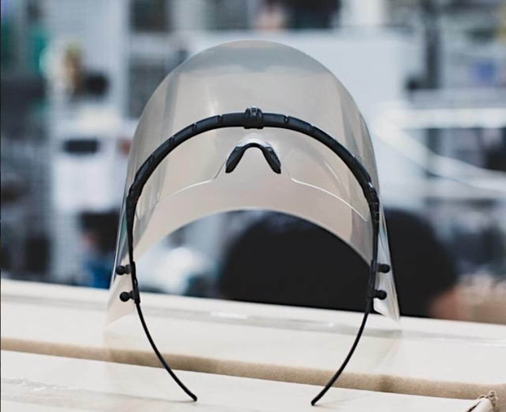 Oakley Face Shield