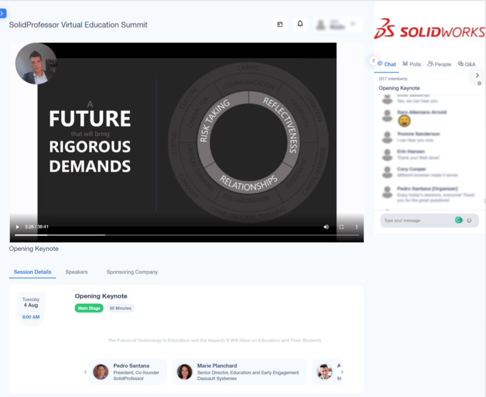 SolidProfessor Virtual Online Summit