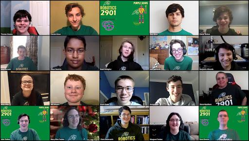Purple Gears FIRST Tech Challenge Robotics Team 2901