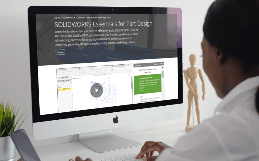 Blend Live and On-Demand SOLIDWORKS Training